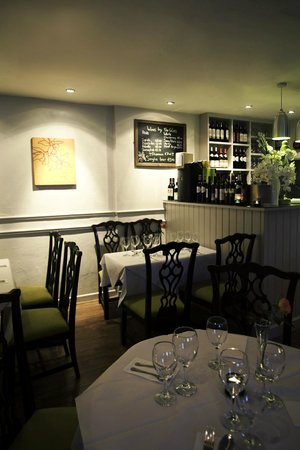Chili Club : Restaurant downstairs