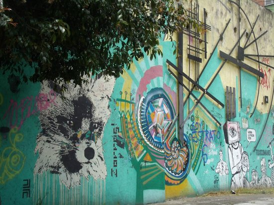 Bogota Graffiti Tour: Graffiti tour