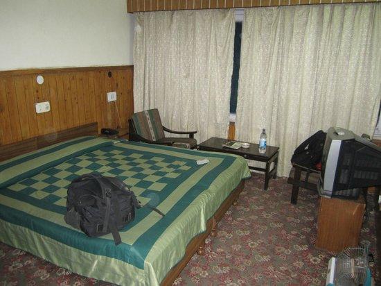 Hotel Bhagsu - HPTDC: The room