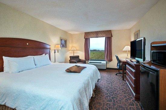 Hampton Inn Batavia: King Guestroom
