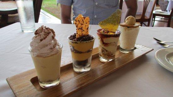 Dessert Sampler at Huaca Pucllana
