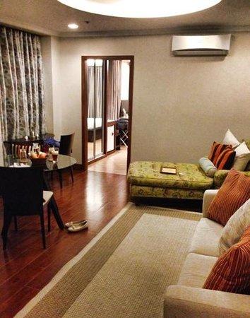 Hampstead Boutique Hotel Boracay : living room