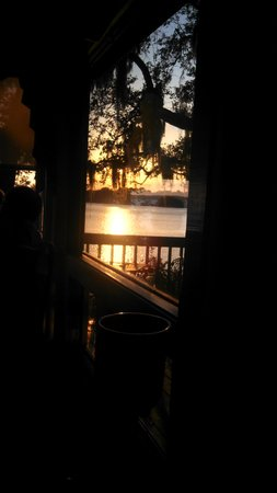 Old Fort Pub: sunset view