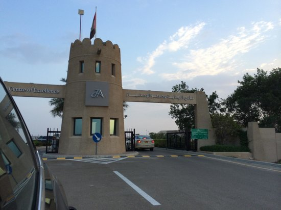 Jebel Ali Shooting Club: the place