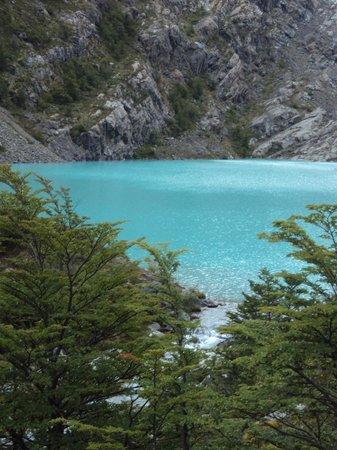 Glaciar Huemul: Laguna Huemul