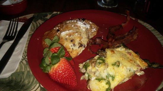 Glen Loch Inn: Awesome homemade breakfast!!