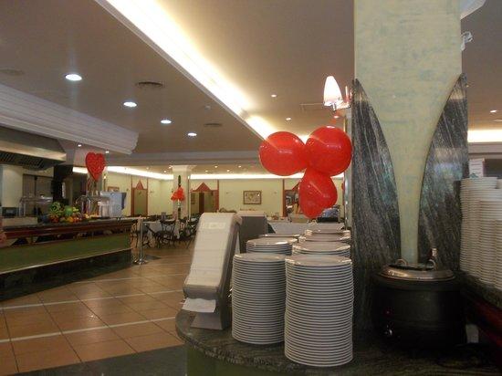 Dunas Mirador Maspalomas: Restaurant valentines day 2