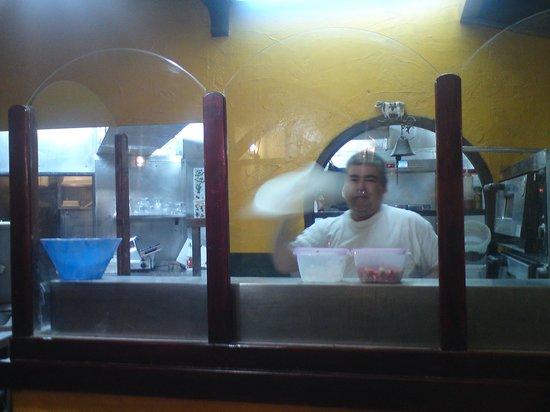 La Ternera loca: Kokken var veldig koselig, sørget for at maten smakte. Flott arbeid med pizza-deigen!