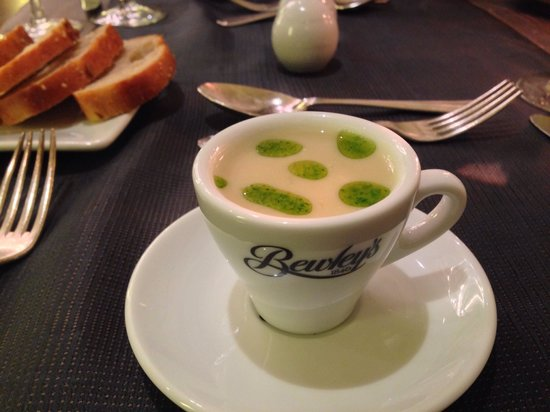 The Brehon: Complimentary soup