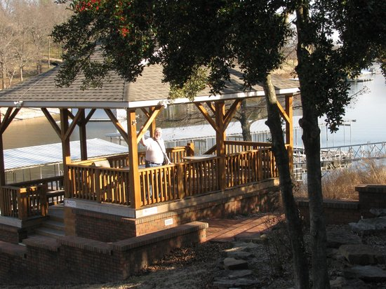 Candlewyck Cove Resort: This is the gazebo.