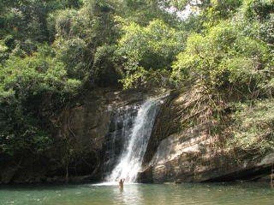 Kandy Samadhi Centre : water fall
