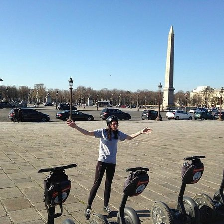 Fat Tire Tours Paris: Segway tour of Paris with Kirstie!
