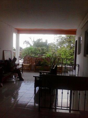 Posada Guadalupe: balcony