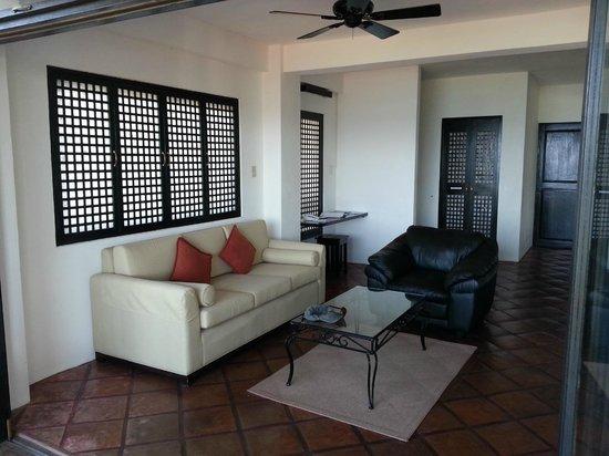 Out of the Blue Resort : Hall d'entrée de la villa 1