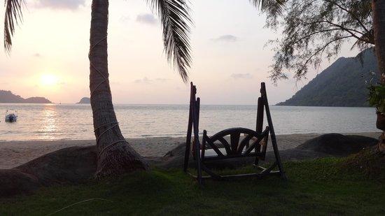 Little Sunshine Boutique Beach Resort & Spa: our private beach..