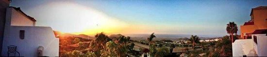 Finca Vista Bonita: view from terrace, morning