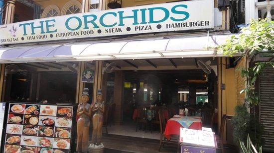 The Orchids Restaurant : Les habitués apprécient .