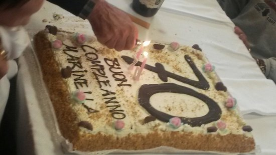 Se una festa di compleanno a sorpresa vuoi organizzare, al ristorante Concordia devi andare! :-)
