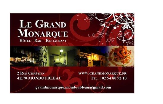 Le Grand Monarque: Carte de visite