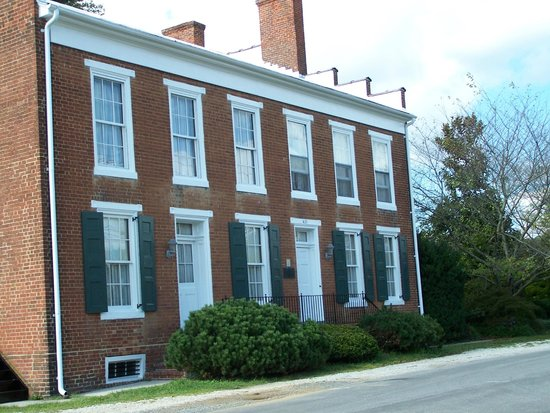 Hunter's Raid Civil War Trail : The Wilson Warehouse is still in use today for public events.