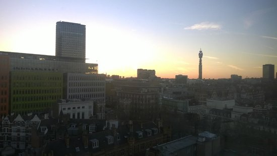 Travelodge London Covent Garden : View of BT Tower