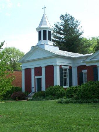 Buchanan, VA: Trinity Episcopal Church has a Civil War Era Grave yard out back.