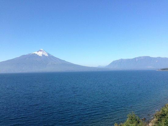 Hotel Cabana del Lago: Osorno Volcano