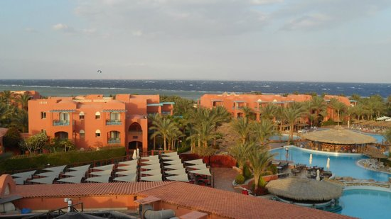 Club Magic Life Sharm el Sheikh Imperial: view over hotel from the tower