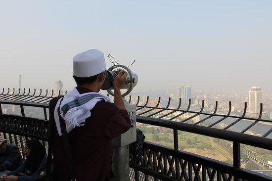 Torre del Cairo: Sewa teropong 5pounds mesir