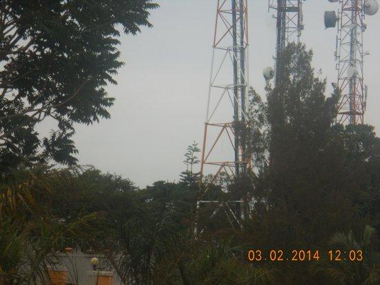 Sunset Entebbe: next door neighbor