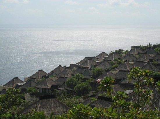 Bulgari Resort Bali: フロントからの眺め