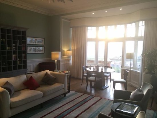 Trump Turnberry, A Luxury Collection Resort, Scotland: Norman Room sitting area