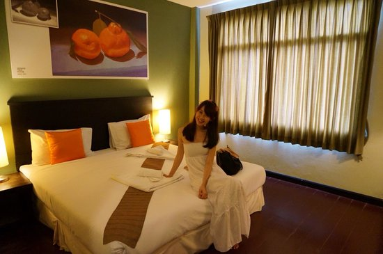 Orange Tree House : Double room