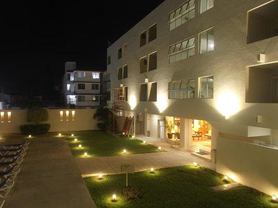 Hotel Bonampak: Soir du 18 février 2014.