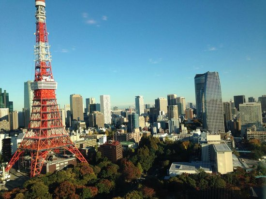 The Prince Park Tower Tokyo : View from restaurant