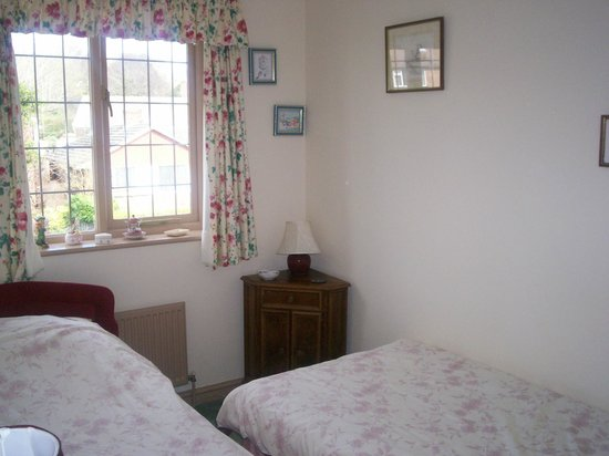 Muffins Bed and Breakfast: twin bedded room