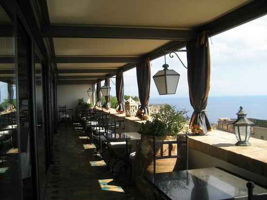 Hotel Villa Carlotta: View from the terrace