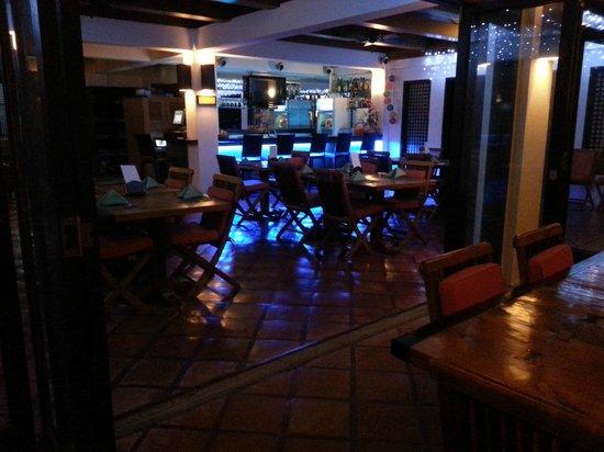 The Verandah Restaurant : Le restaurant Verandah
