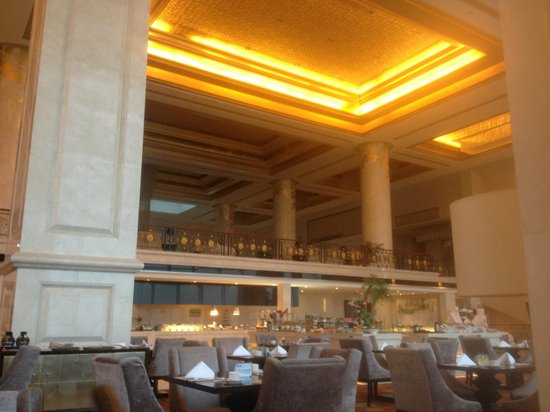 New Century Grand Hotel Huai'an: Hotel lobby and restaurant