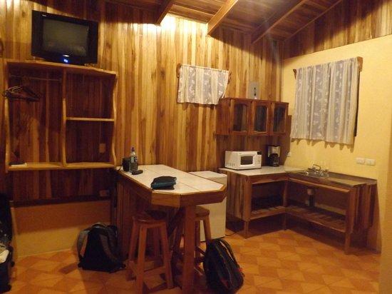 Monteverde Villa Lodge : Kitchen corner