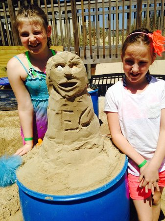 Sandcastle Lessons: Look what we made!