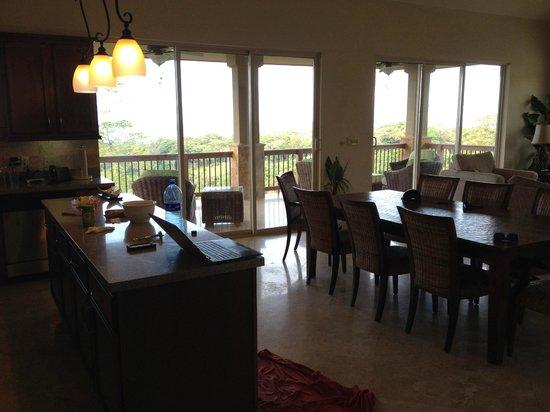 Red Frog Beach Island Resort & Spa : Inside Villa 13.
