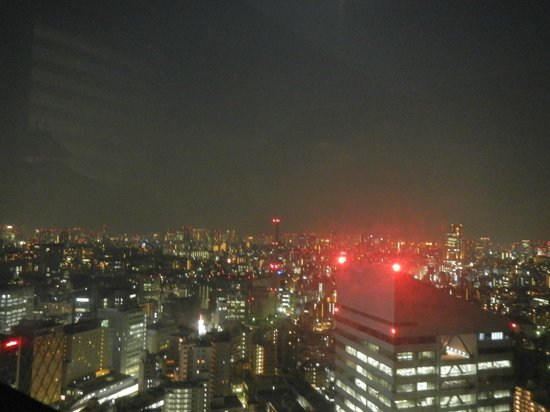 Cerulean Tower Tokyu Hotel : panorama night