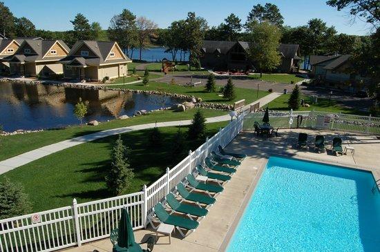 Kavanaugh's Sylvan Lake Resort : Outdoor Pool area