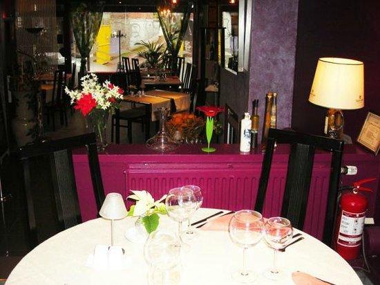 Décoration du restaurant à herstal photo de chez andre