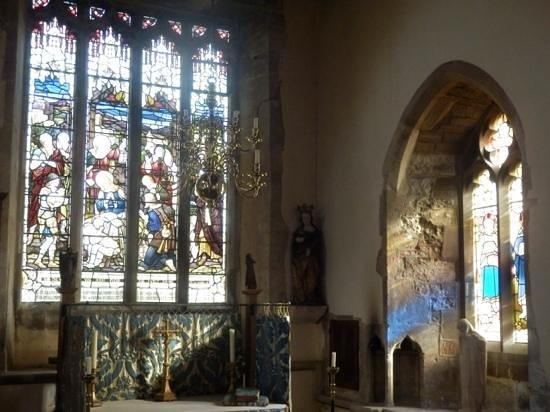 St Laurence Church: Beautiful windows