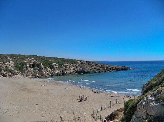 Agriturismo Calamosche: Spiaggia Calamosche