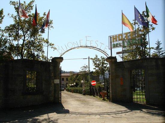 Hotel del Lago : 入口