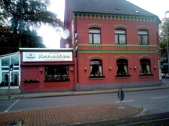 Muelheim an der Ruhr, Niemcy: Waldschlösschen.