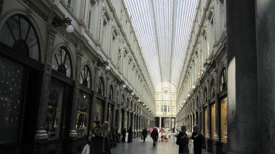 Les Galeries Royales Saint-Hubert : Gallerie Reali Saint-Hubert a Bruxelles.